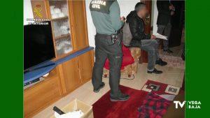 La Guardia Civil desarticula en Guardamar del Segura un punto de venta de sustancias estupefacientes