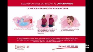Sanidad confirma 15 nuevos casos positivos de coronavirus en la Comunitat Valenciana