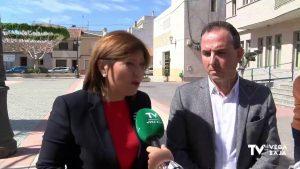 Isabel Bonig visita poblaciones de la Vega Baja afectadas por la DANA