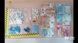 Agentes de paisano detienen a dos personas en Almoradí por presunto delito de tráfico de drogas