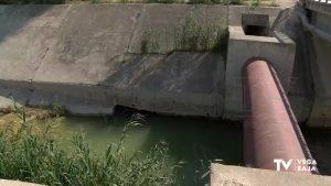 La Confederación Hidrográfica del Segura comienza a reparar el derramador de Jacarilla