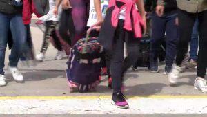 Así ha sido el último día de clase para los estudiantes de la Vega Baja antes de la cuarentena
