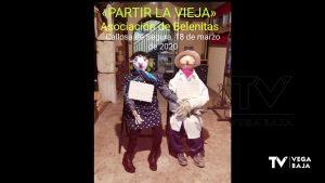 La tradición «Partir la Vieja» de Callosa se adapta a la situación de estado de alarma