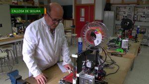 Impresoras 3D para fabricar pantallas de protección destinadas a los sanitarios