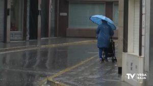 Lluvias, cortes en vías y fuertes rachas de viento en la comarca
