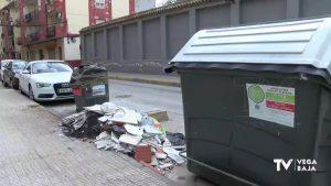 Conciencia ciudadana con la basura y el depósito de enseres en la vía pública ante el coronavirus