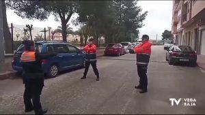 Protección Civil anima a los más pequeños de la comarca durante el confinamiento