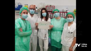 Confección solidaria de EPIs en San Bartolomé para sanitarios del Hospital Vega Baja