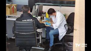 Algorfa hace test rápidos a Policía Local y asistentes a domicilio