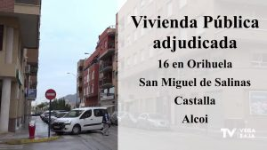 Adjudicadas 16 viviendas públicas a familias vulnerables en Orihuela