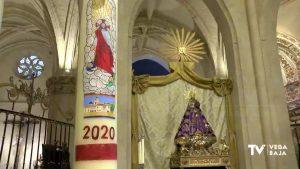 Centenario de la coronación de la patrona de Orihuela desde la catedral