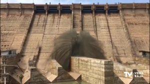 La CHS inicia el 20 de mayo obras de reparación del desagüe de la Presa de Santomera