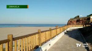 El Paseo Marítimo de Cabo Roig ya está a punto para el verano tras su remodelación