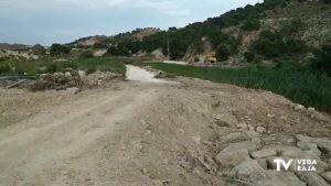 Siguen las obras de reparación en el canal del postrasvase Tajo-Segura