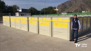 Limpieza Viaria y RSU recibe 80 nuevos contenedores para recogida selectiva de envases