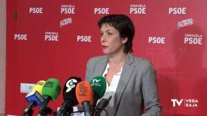 El PSOE de Orihuela pide al gobierno que obre para evitar inundaciones