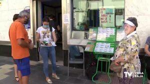 La ONCE retoma su actividad con la venta de cupones en la calle