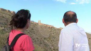 Las obras de consolidación de la fortaleza de Orihuela siguen avanzando a buen ritmo