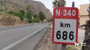 Urbanismo e Infraestructuras solicitan la mejora vial de la N-340 a su paso por Orihuela