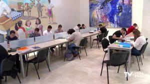 Las bibliotecas vuelven a recibir la llegada de estudiantes para preparar exámenes