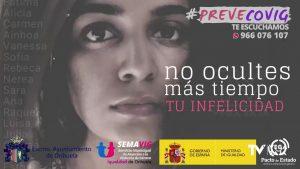 Orihuela impulsa el Servicio Municipal de Atención a la Violencia de Género en esta etapa post-covid