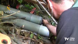 Detenido en Bigastro por presunto delito de tenencia ilícita de armas y depósito de municiones