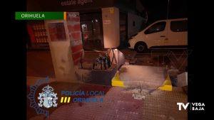 La Policía Local de Orihuela evita el robo en un cajero y recupera un camión grúa robado en Aspe