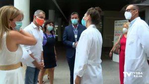 El líder de Cs Toni Cantó defiende el modelo de gestión del hospital de Torrevieja