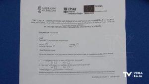 Vecinos de Dolores firman en contra de la futura ubicación de la depuradora de Almoradí