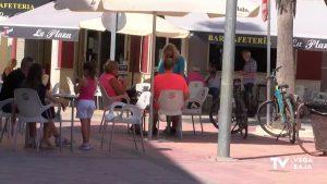 El uso de la mascarilla se impone también en las terrazas de bares y cafeterías de la comarca