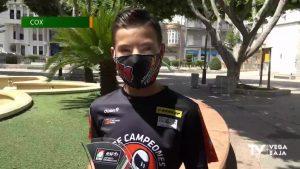 El joven piloto de Cox, Alberto Ferrández, imparable en el Mundial Junior