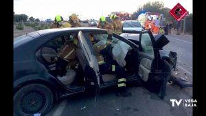 Dos heridos en un accidente de tráfico en la CV 920