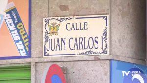 Placas de calles dedicadas al Juan Carlos I siguen poniendo orden en el callejero de la Vega Baja