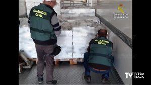 Incautadas 12 toneladas de pescado en las instalaciones de una empresa ubicada en Guardamar