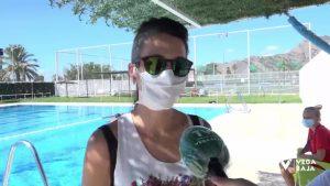 El final de agosto cierra la temporada de baños en las piscinas de verano