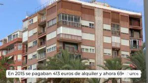 El precio de la vivienda en alquiler en la Comunidad Valenciana sube un 68% desde 2015