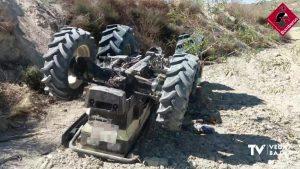 Fallece un hombre de 80 años en Torremendo por el vuelco de un tractor