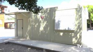Los alumnos de Primaria del CEIP Virgen de las Virtudes de Cox inicia el curso sin aulas