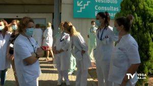 El comité de empresa del Hospital de Torrevieja exige conocer el futuro de los trabajadores