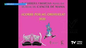Orihuela celebra en formato virtual la Carrera y Marcha por el Día Mundial del Cáncer de Mama