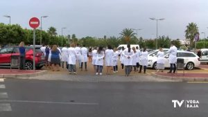 Tensión a las puertas del Hospital de Torrevieja