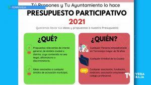 Los torrevejenses ya pueden presentar sus propuestas para los Presupuestos Participativos 2021