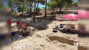 Nuevo descubrimiento en el yacimiento del Cabezo del Molino de Rojales
