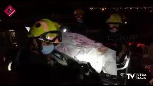 Rescate de una mujer en Torrevieja