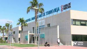 El Hospital de Torrevieja cuenta con un paciente grave en UCI y pocos ingresos
