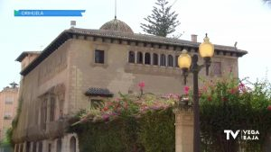 Conselleria aprueba el proyecto de rehabilitación del Palacio de Rubalcava de Orihuela