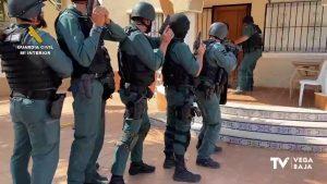 Cae una banda dedicada al tráfico de drogas en la Vega Baja