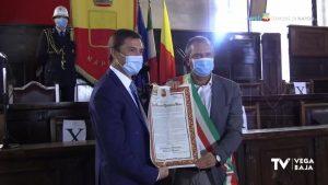 """El cojense José Vicente Quirante Rives, nombrado """"Ciudadano honorario de Nápoles"""""""