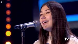 Una torrevejense consigue el «ticket dorado» en Idol Kids