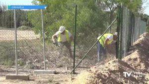 Iniciados los trabajos de acondicionamiento de los huertos urbanos en Orihuela